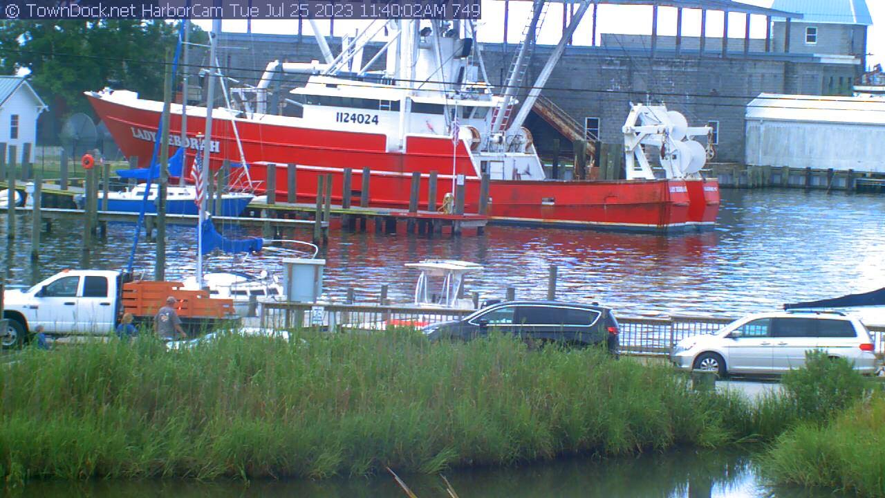 RiverCam, Neuse River Web Cam   TownDock net, Oriental, NC